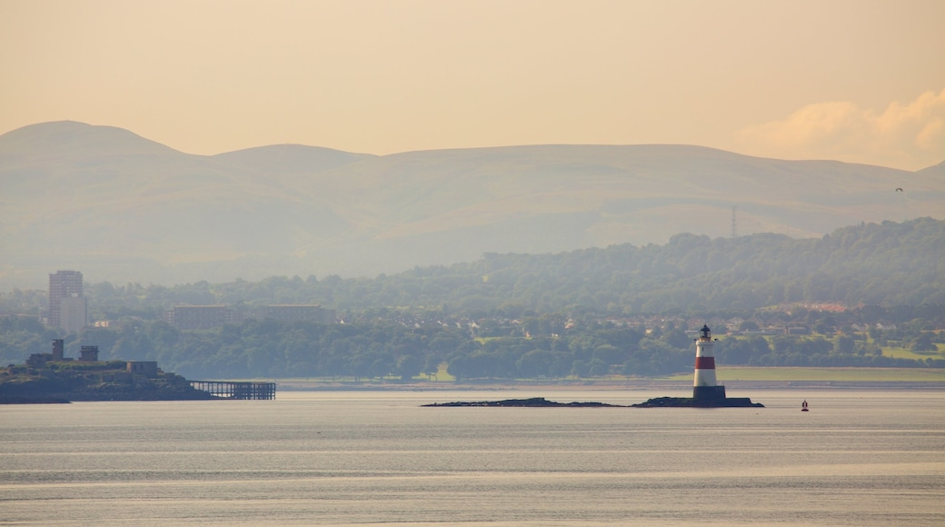 Aberdour featuring a sunset and general coastal views