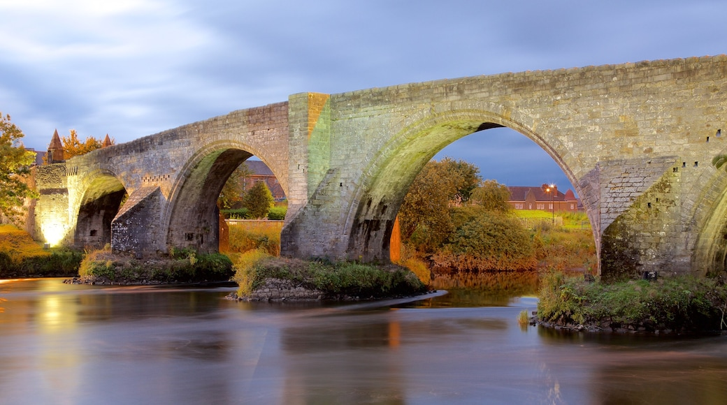 Stirling featuring heritage elements, a river or creek and a bridge