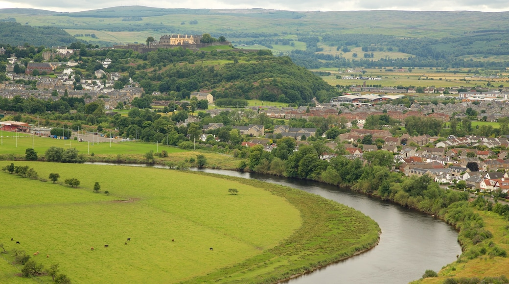 Stirling which includes landscape views, a river or creek and a small town or village