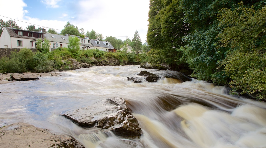 Falls of Dochart which includes rapids