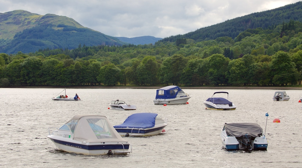 Loch Earn featuring boating and a lake or waterhole
