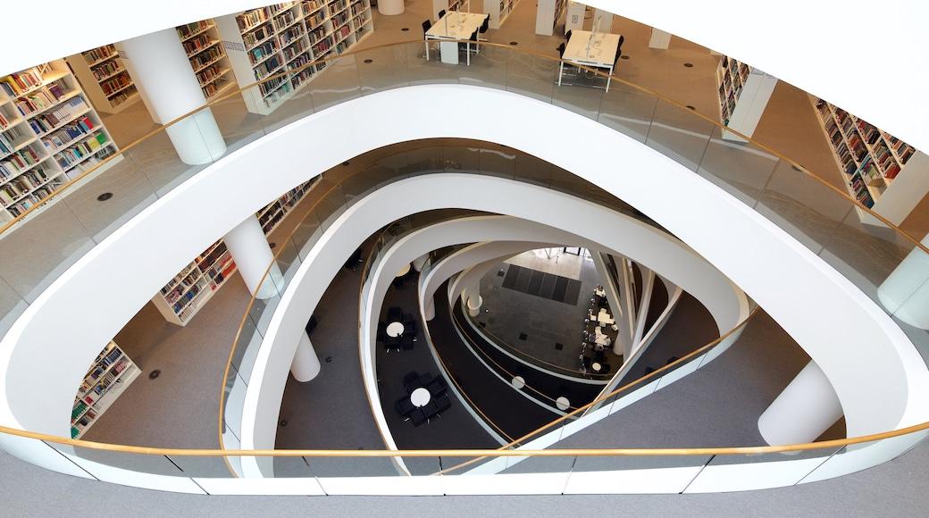 Aberdeen showing modern architecture and interior views