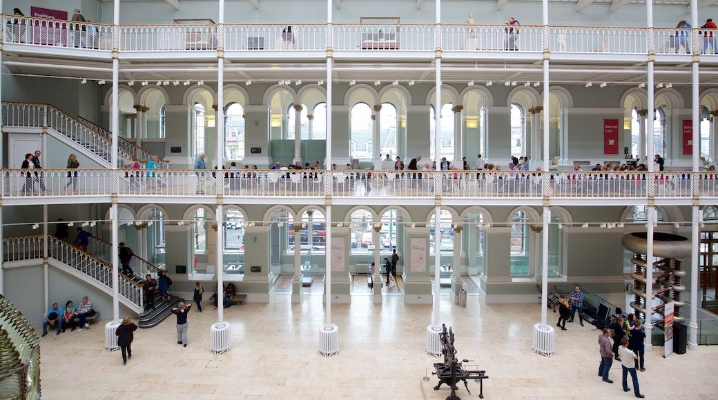 National Museum of Scotland qui includes vues intérieures