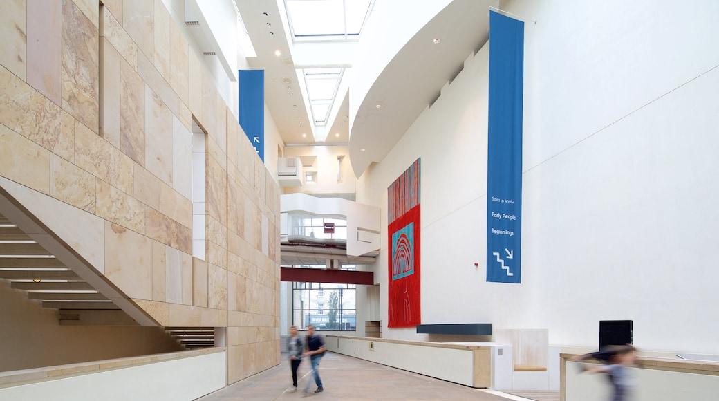 National Museum of Scotland montrant vues intérieures