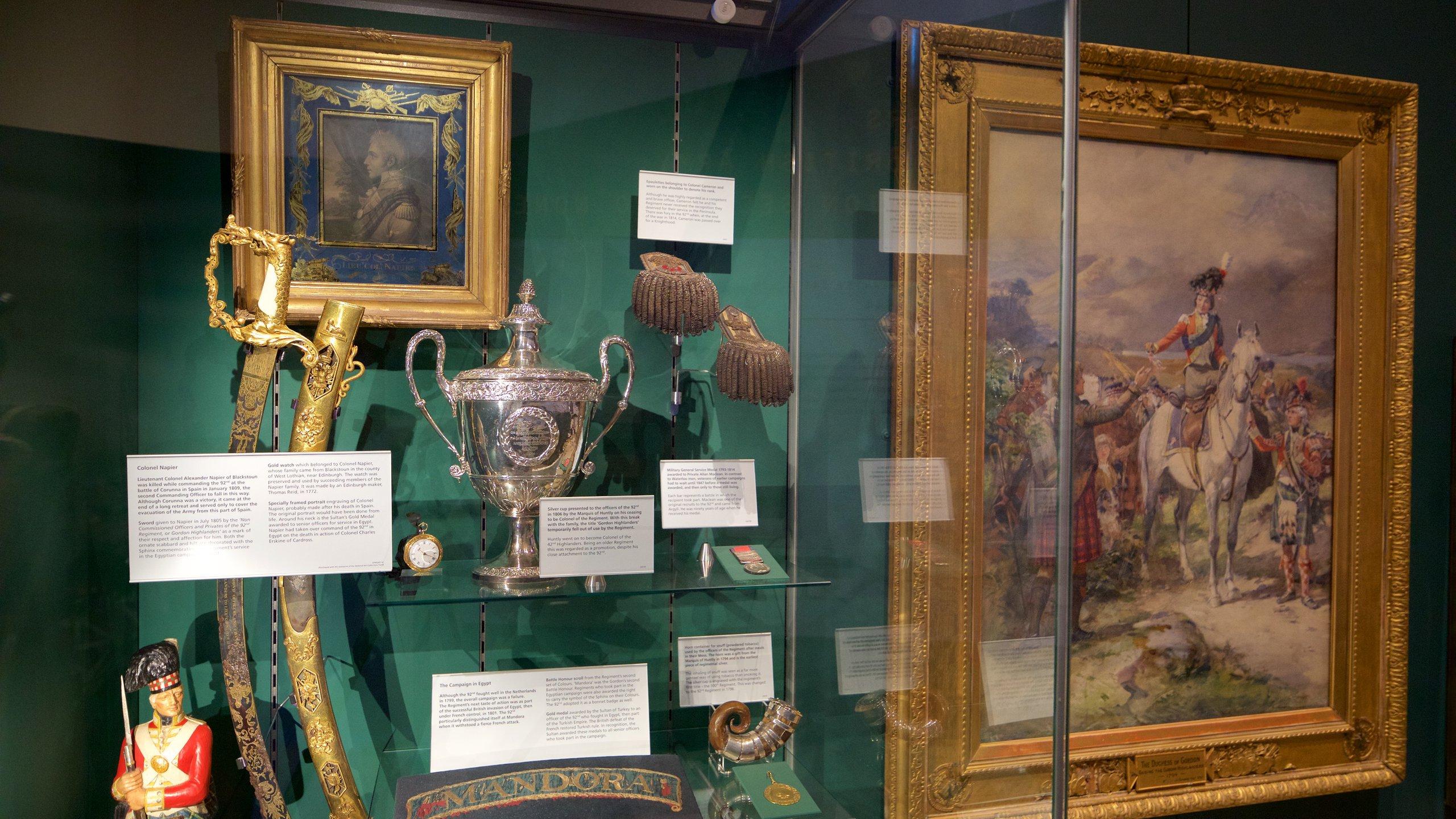 Gordon Highlanders Museum, Aberdeen, Schotland, Verenigd Koninkrijk