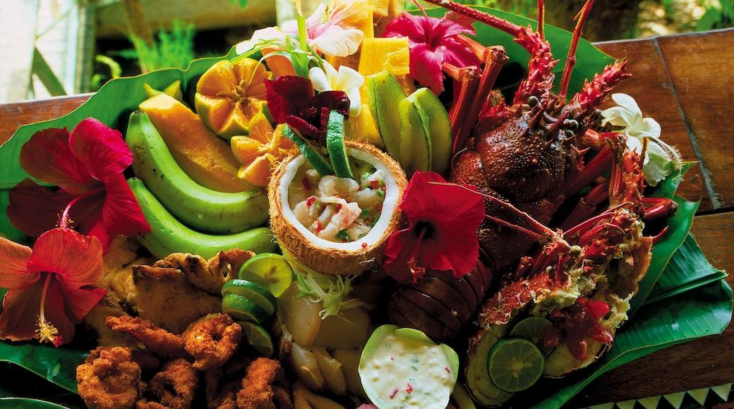 Honiara welches beinhaltet Speisen