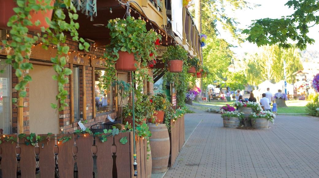Leavenworth showing street scenes