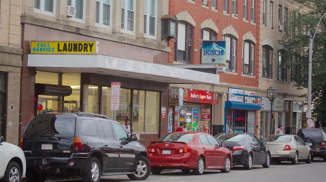 Chelsea featuring street scenes