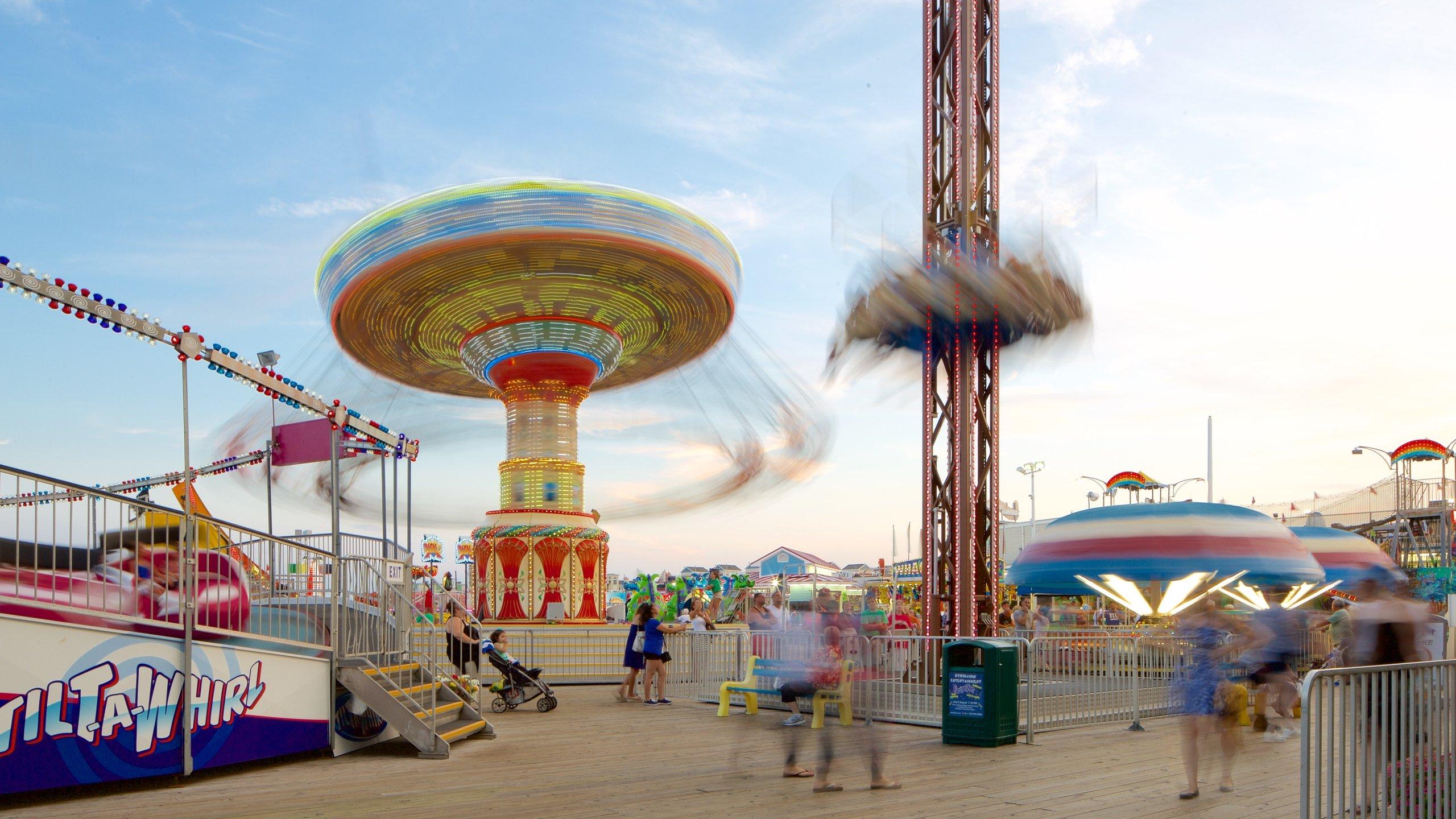 Casino Pier, Seaside Heights, New Jersey, Verenigde Staten