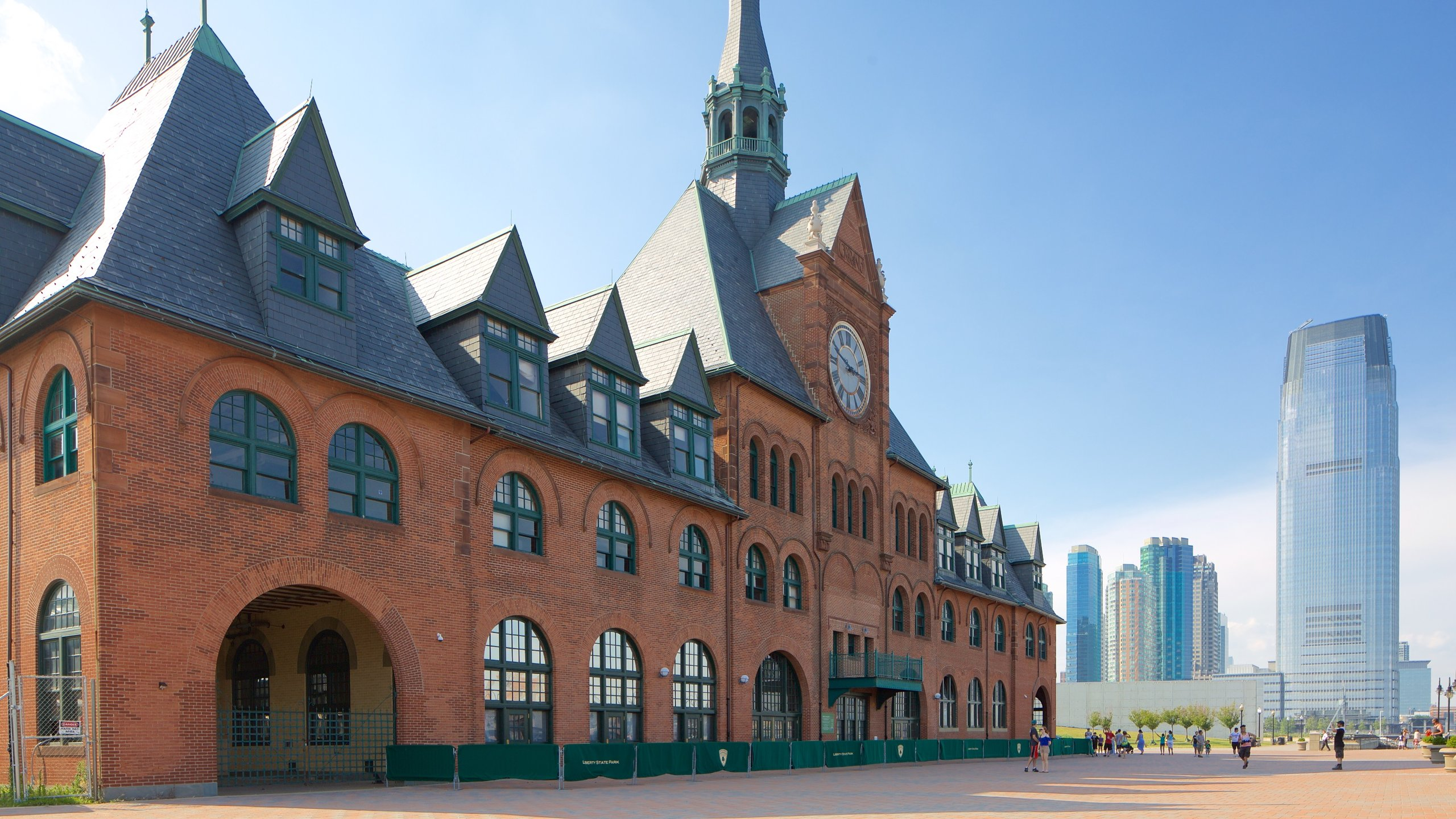 Central Railroad of New Jersey Terminal, Jersey City, New Jersey, United States of America