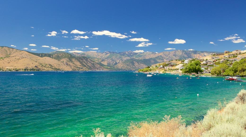 Lake Chelan which includes general coastal views