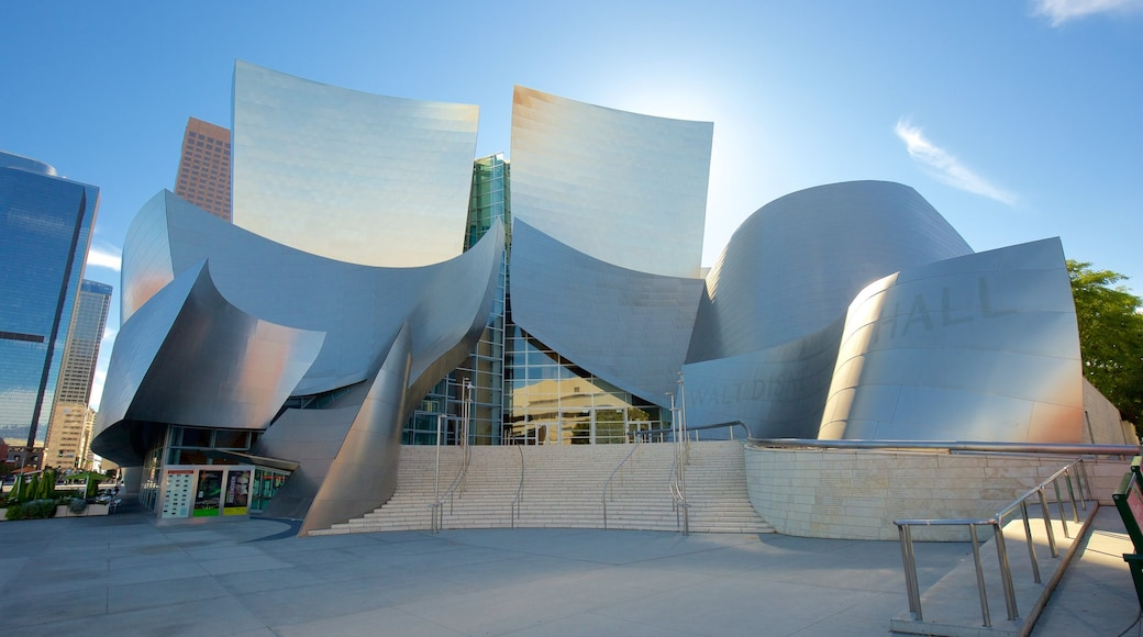 Walt Disney Concert Hall which includes a city and modern architecture