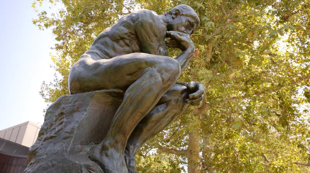 Norton Simon Museum showing a statue or sculpture