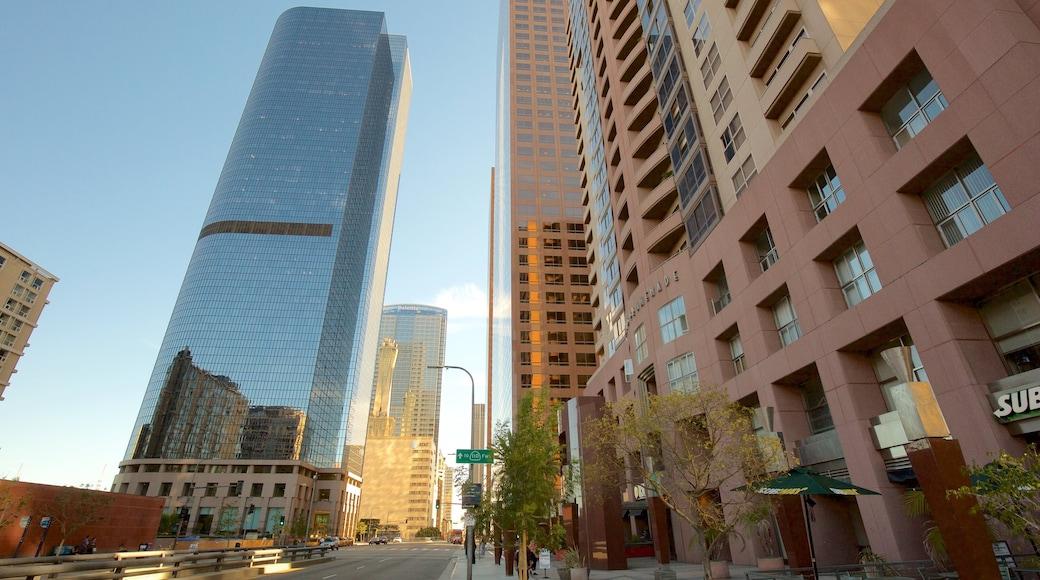 Centre-ville de Los Angeles qui includes ville