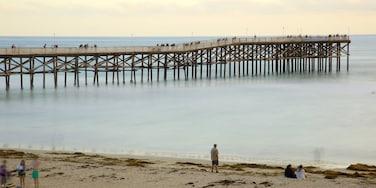 Parque de Pacific Beach mostrando una playa de arena