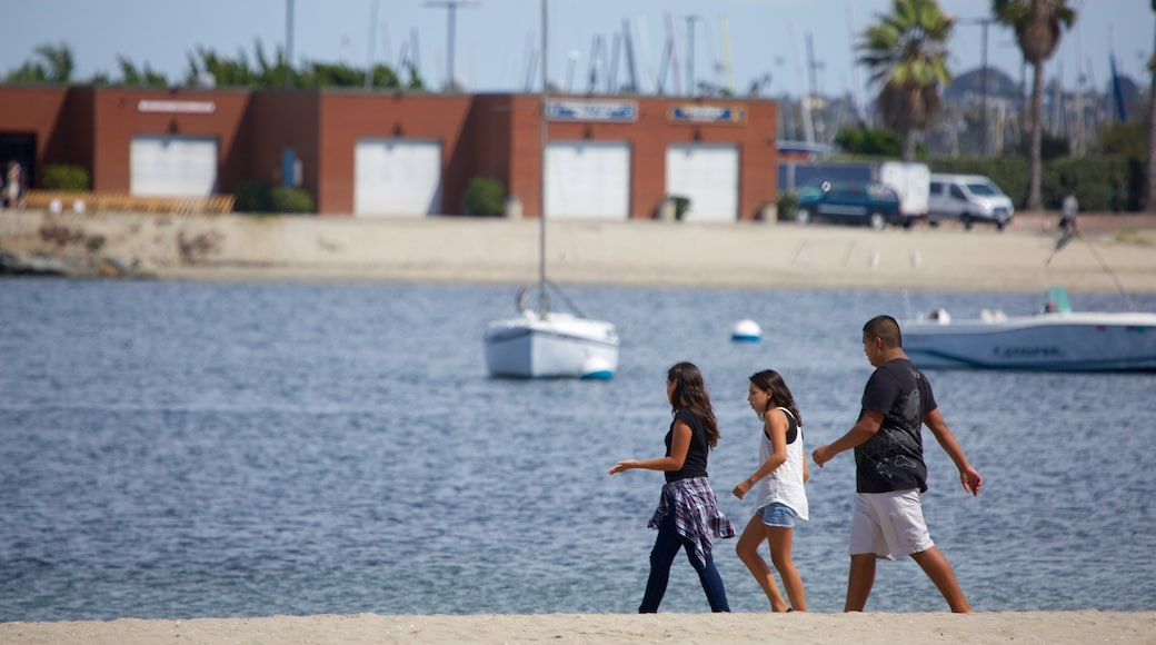 Mission Bay which includes general coastal views as well as a family