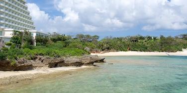 沖繩 呈现出 酒店, 綜覽海岸風景 和 海邊城市