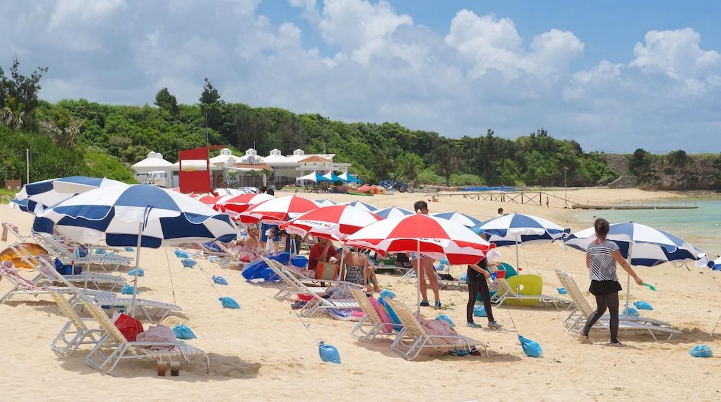 니라이 해변 이 포함 해변 뿐만 아니라 대규모 사람들