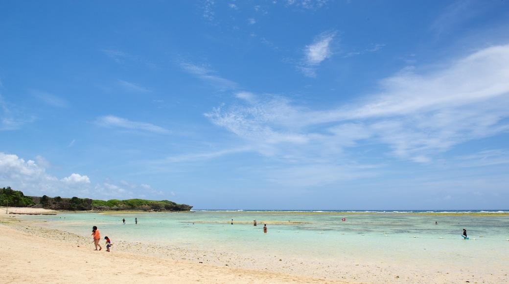 니라이 해변 이 포함 모래 해변 과 수영