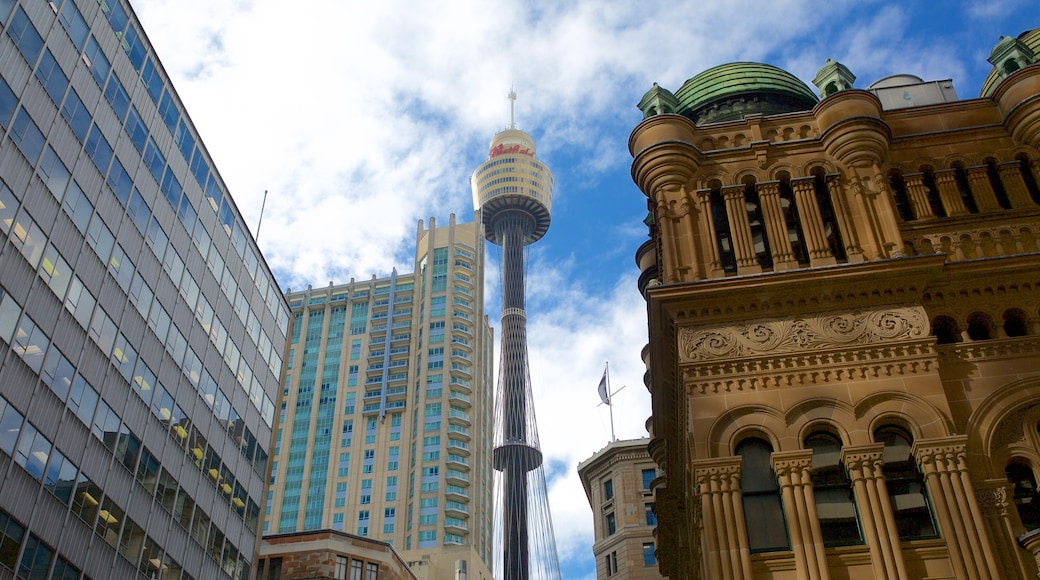 Sydney Central Business District featuring a city and heritage architecture