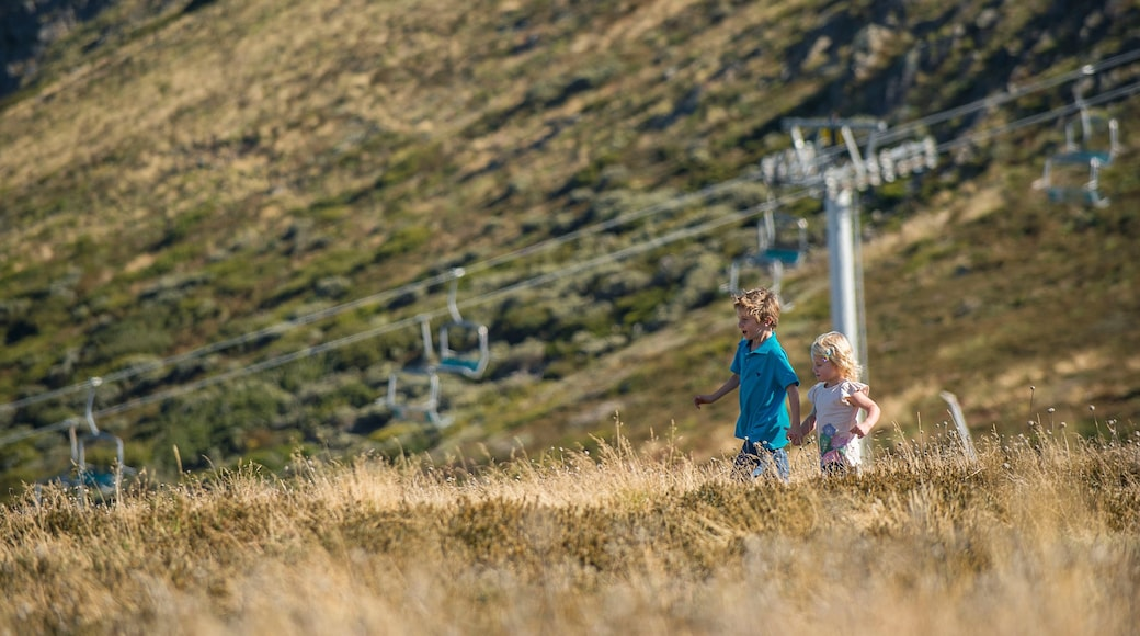 Mt. Buller Ski Slopes which includes a gondola as well as children