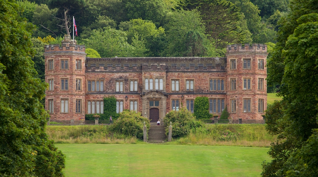 Mt. Edgcumbe which includes a castle and heritage architecture