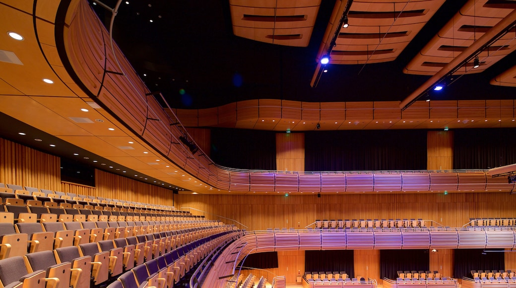Sage Gateshead showing theatre scenes and interior views
