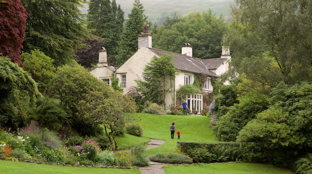 Rydal Mount which includes a garden and a house