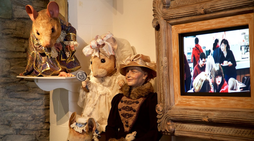World of Beatrix Potter featuring interior views