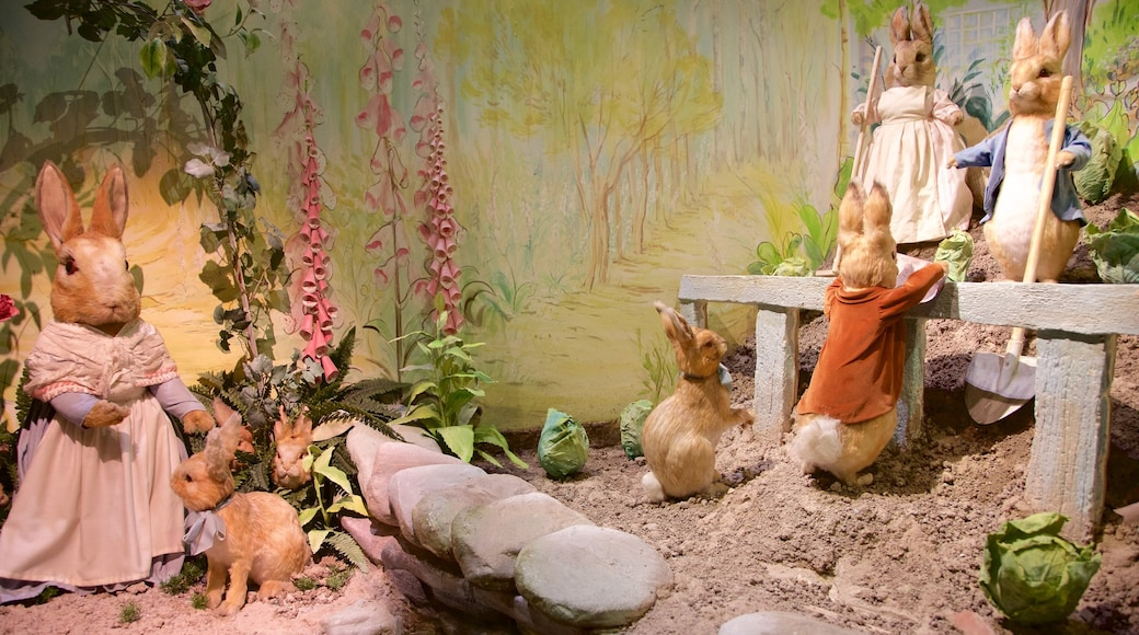 World of Beatrix Potter showing cuddly or friendly animals