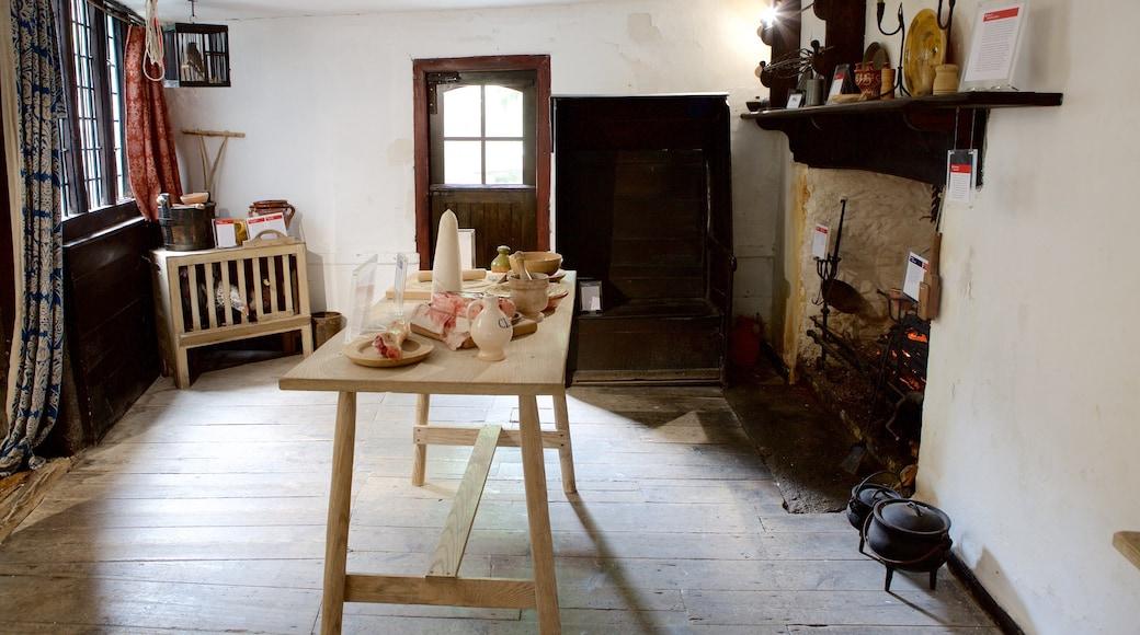 Elizabethan House mit einem Innenansichten und Geschichtliches