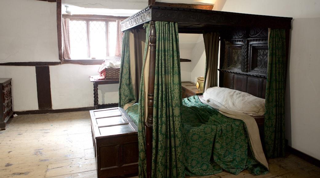 Elizabethan House mit einem Innenansichten