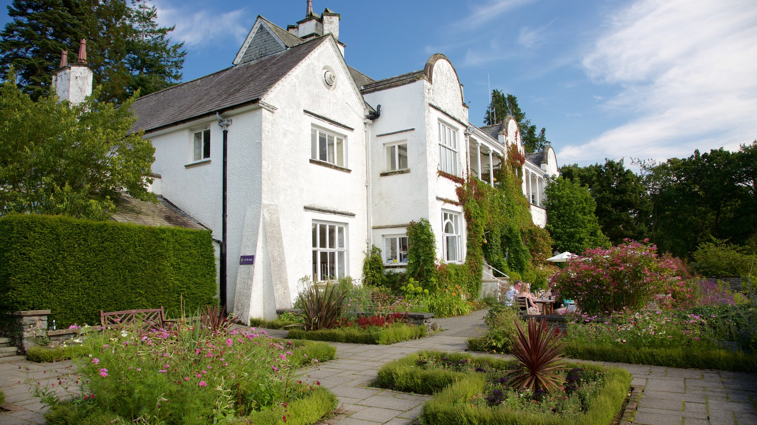 Brockhole - the Lake District Visitor Centre, Windermere, Engeland, Verenigd Koninkrijk