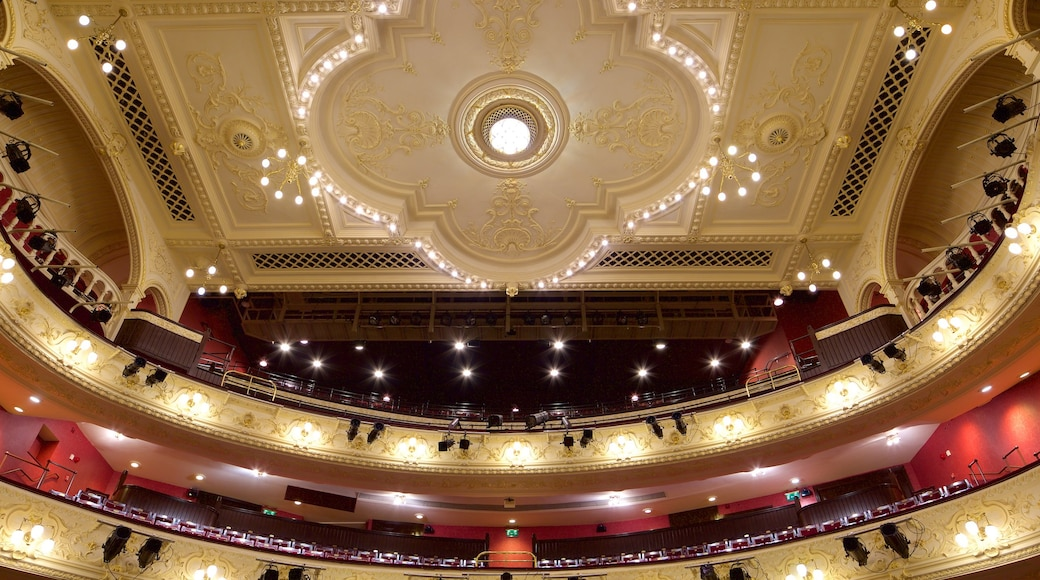 Newcastle-upon-Tyne Theatre Royal featuring interior views and theatre scenes