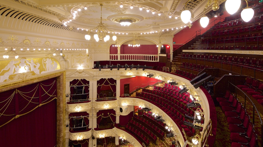 Newcastle-upon-Tyne Theatre Royal featuring theatre scenes and interior views