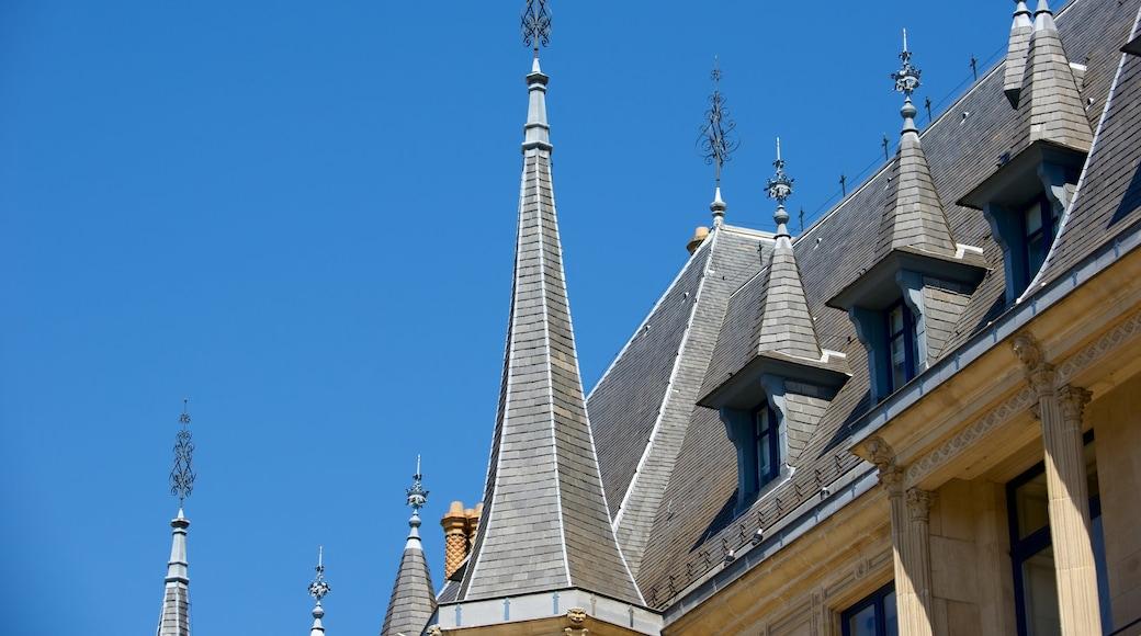 Großherzoglicher Palast welches beinhaltet historische Architektur, Burg und Geschichtliches