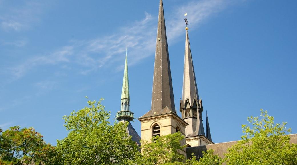 Kathedrale Notre-Dame welches beinhaltet Kirche oder Kathedrale, Geschichtliches und historische Architektur