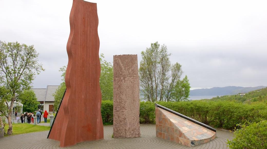 Altan museo joka esittää monumentti