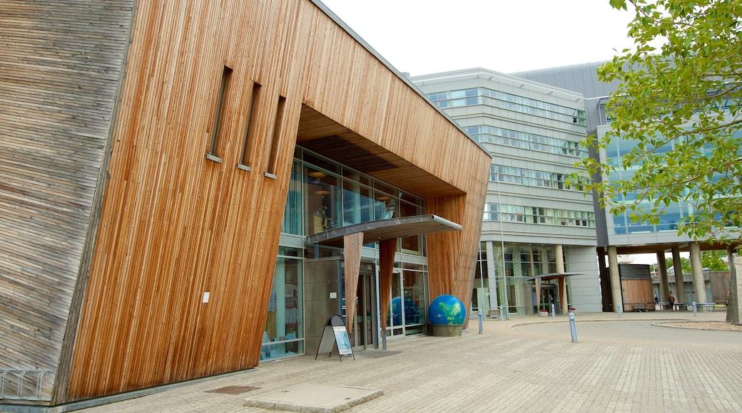 Polaria som viser moderne arkitektur