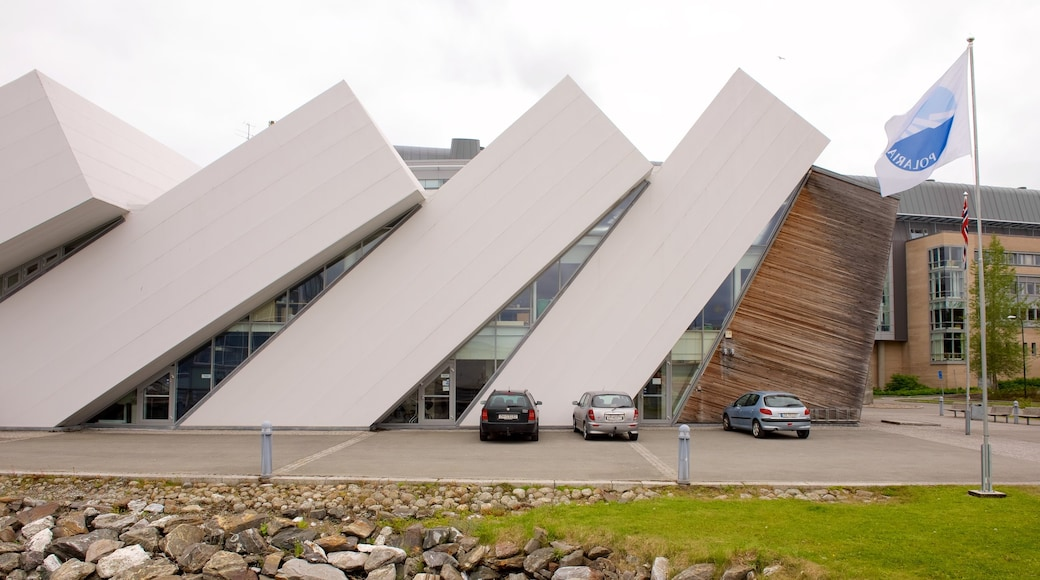 Polaria fasiliteter samt moderne arkitektur