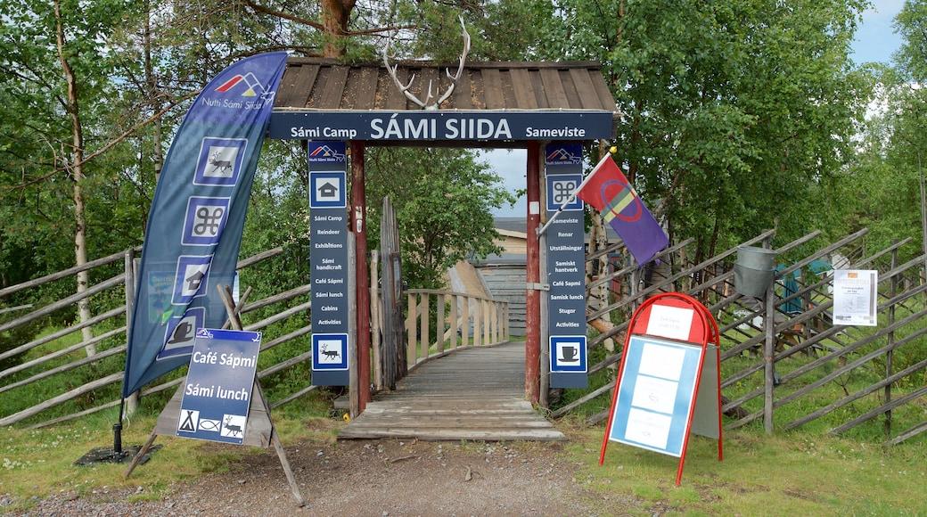 Jukkasjärvi presenterar skyltar