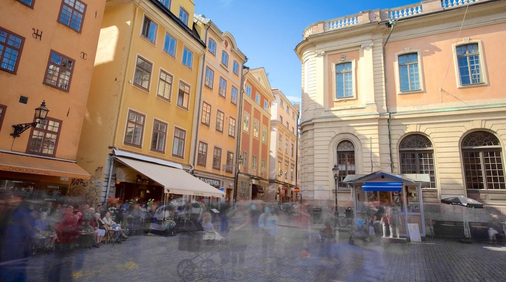 Stortorget mostrando escenas urbanas