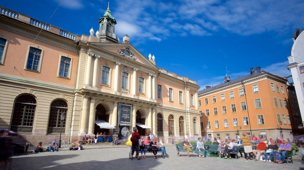 Nobel-museo joka esittää tori