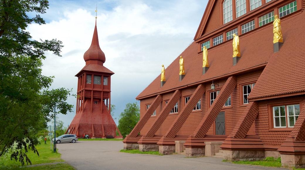Kiruna Kyrka caratteristiche di tempio o luogo di culto
