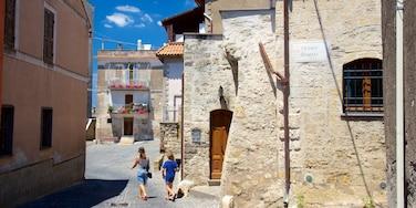Tarquinia ofreciendo patrimonio de arquitectura