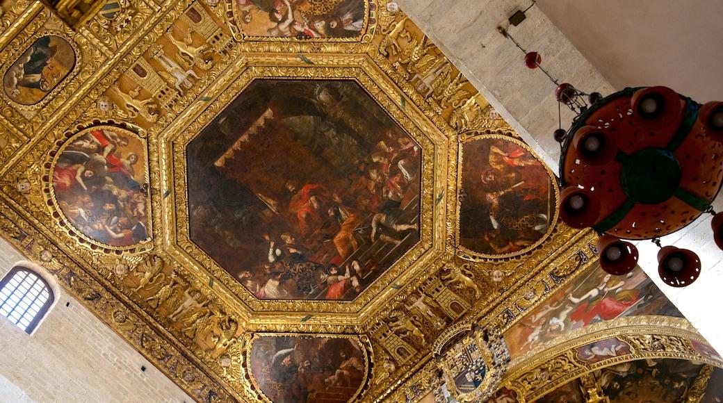 Basilica di san Nicola caratteristiche di arte e vista interna