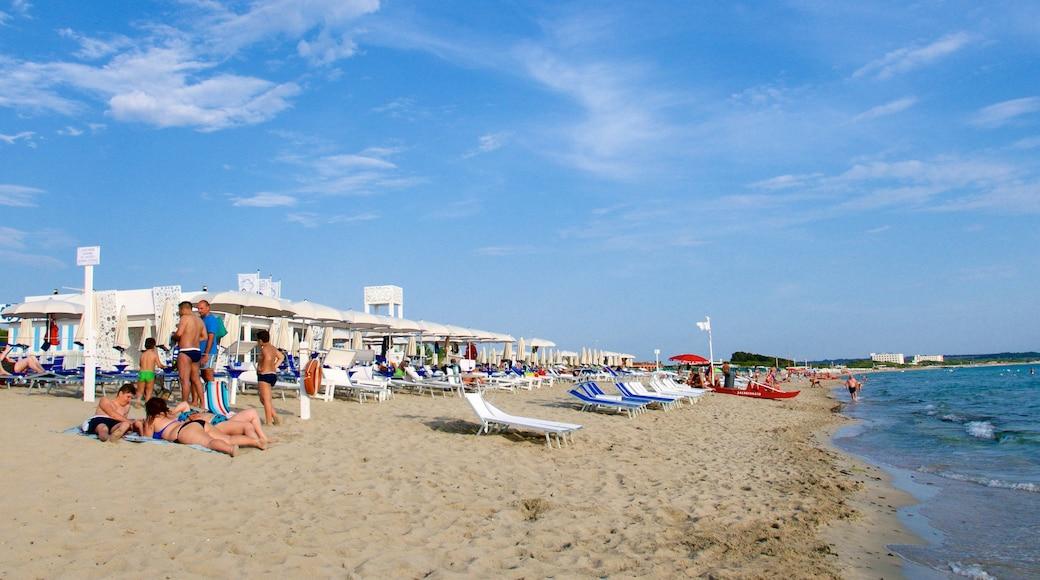 Baia Verde Beach which includes a sandy beach and general coastal views