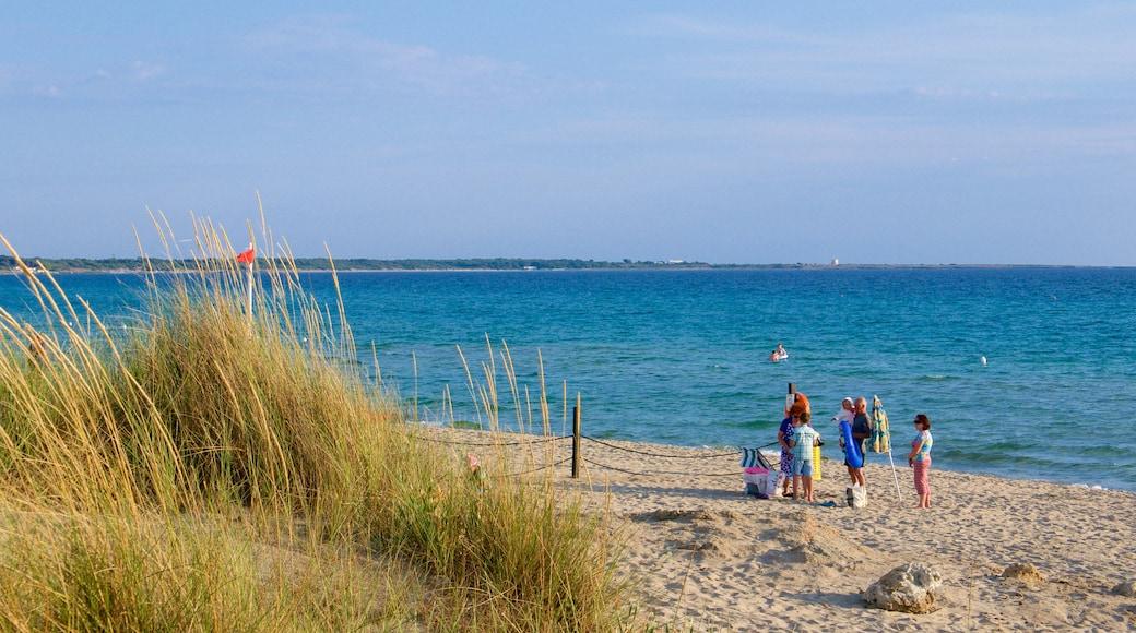 Baia Verde Beach featuring a sandy beach and general coastal views