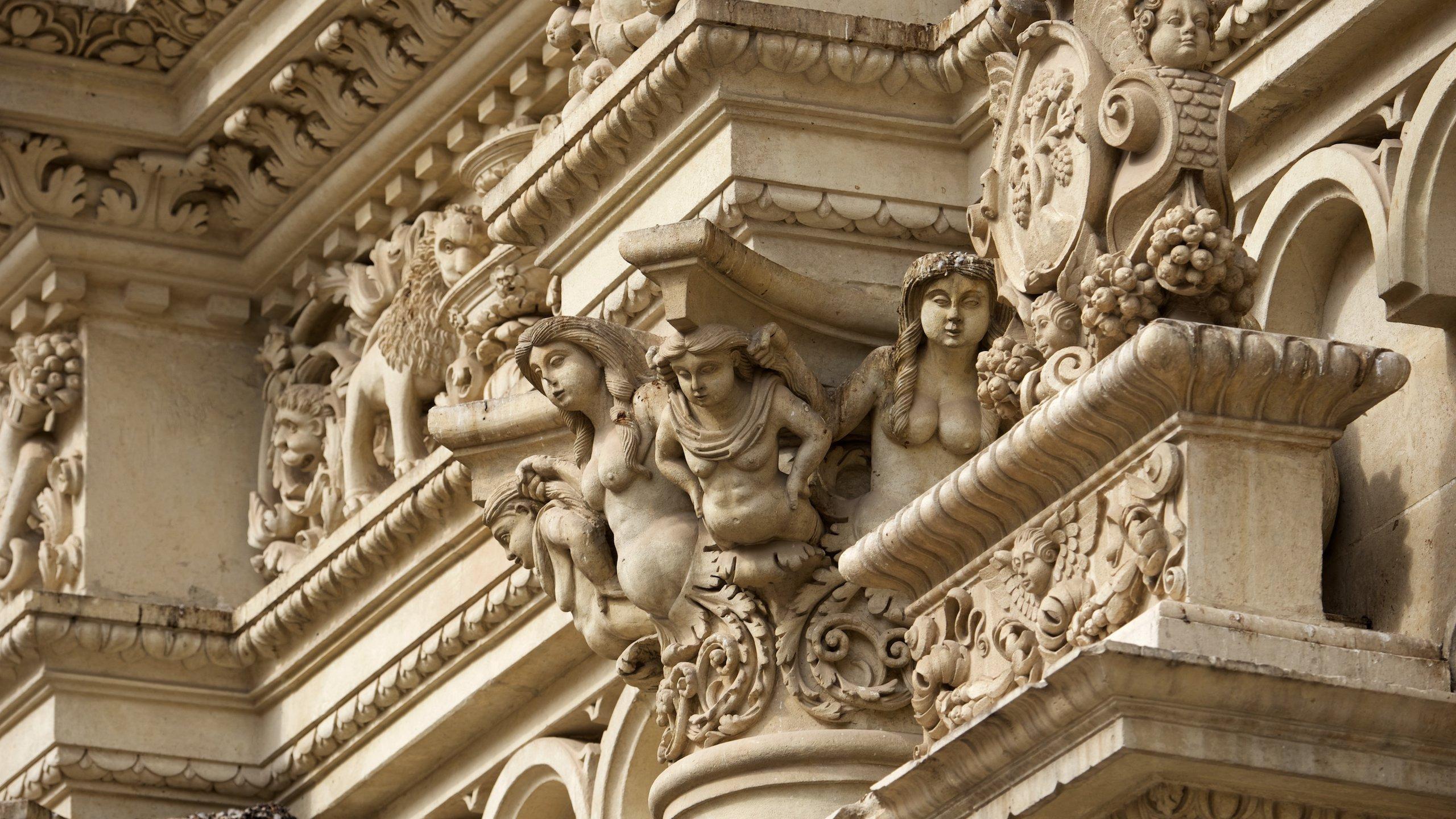 Altstadt von Lecce, Lecce, Apulien, Italien