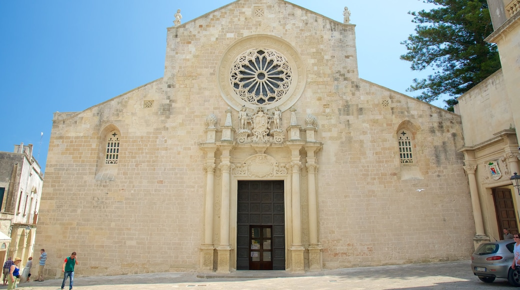 Otranto Cathedral featuring religious aspects, heritage architecture and a church or cathedral